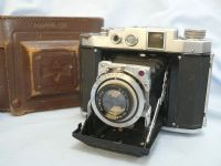 '    1940 Mamiya 6 Version I Cased -RARE-  ' Mamiya 6 Version I Vintage Folding 6X6 Rangefinder Camera c/w KOL Lens +Original Case -NICE-RARE- £199.99